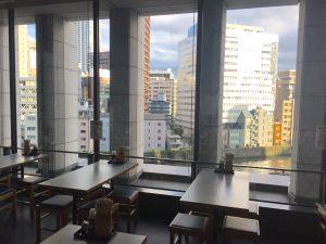築港麺工房 中之島店からの風景