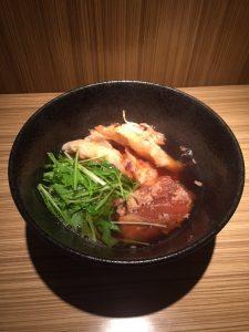 本町製麺所本店豚とろ肉うどん