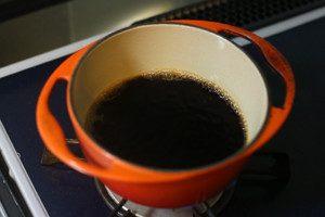 鍋に白だしと●をいれ、沸騰後、冷やす(ぶっかけ用なので濃いめにしてます。お好みで白だしは加減してください)