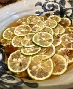 酢橘うどん