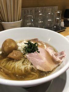 本町製麺所阿倍野卸売工場中華そば工房夏季限定冷やし梅そば